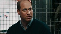 Prince William reveals mental health pressures