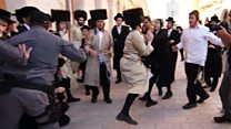 Clashes at ultra-orthodox Eurovision protest