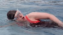 'Cold water swimming helps stop my migraines'