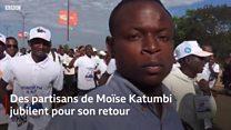 Retour d'exil après 3 ans pour l'opposant congolais Moïse Katumbi