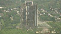 ABD çelik endüstrisinin gücünün simgesel binası yıkıldı