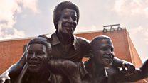 Pioneering black footballers immortalised