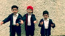 Children rapping for Great Ormond Street