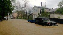 Повені й евакуація - як затопило Західну Україну