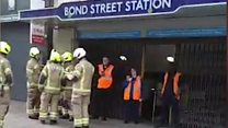 Bond Street evacuated