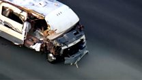 Not your average police chase: Stolen motorhome causes chaos
