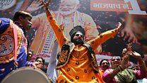 پیروزی دوباره حزب حاکم در انتخابات پارلمان هند