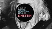 O que é a teoria da relatividade geral de Einstein, que o transformou em celebridade mundial