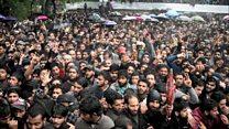 Thousands attend Kashmir militant's funeral