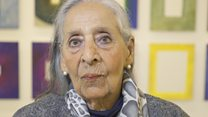 How this 98-year-old got her first solo art exhibition