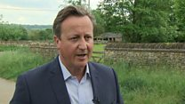 Cameron 'feels desperately sorry' for May