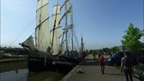 Thousands gather for Tall Ships Festival