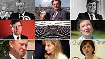 Northern Ireland's eight MEPs
