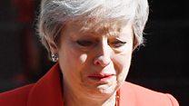 El emotivo discurso de May para anunciar su dimisión al frente del Partido Conservador
