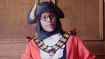 The mayor who wears a hijab