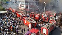 ਸੂਰਤ 'ਚ ਲੱਗੀ ਭਿਆਨਕ ਅੱਗ ਦੌਰਾਨ 18 ਮੌਤਾਂ