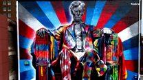 فنان شارع يسرد التاريخ على جدران المدن حول العالم