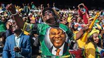 Ramaphosa sworn in