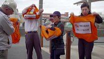 노인에게 QR코드 부착한 일본 지자체의 속사정