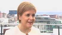 'You can't stand in the way of the will of the Scottish people'