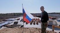 Как живет Шиес - одна из самых скандальных строек России. Фильм Би-би-си