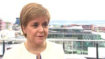 Sturgeon on next steps after European elections