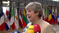 May: 'Best option' is to leave with a deal