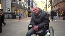 Homeless and disabled: 'I'm at my wits' end'