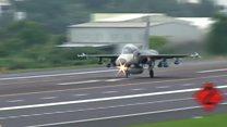 Không quân Đài Loan diễn tập để 'sẵn sàng đối phó TQ'