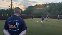 Playing football as a form of therapy