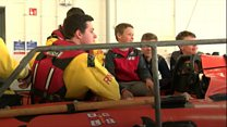 Passerby saved boy, 9, from sea current