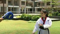 9 ਸਾਲਾ ਤਾਈਕਵਾਂਡੋ ਖਿਡਾਰਣ ਦੀ ਮਾਂ ਨੇ ਇੰਝ ਤਿਆਰੀ ਕਰਵਾਈ