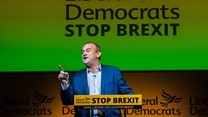 Davey: Lib Dems want to stop Brexit 'democratically'