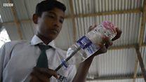 โรงเรียนที่ให้เด็กจ่ายค่าเล่าเรียนด้วยขยะพลาสติกในอินเดีย