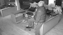 'Brazen' burglar had cake and Fanta break