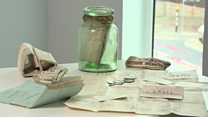 Time capsule unearthed at Chase Farm Hospital