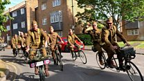 'Dad's Army' cycling to war on PTSD