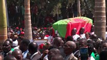 Thousands gather for Angola rebel leader's reburial