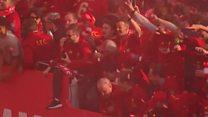 ليفربول تكتسي باللون الأحمر احتفالا بدوري أبطال أوروبا