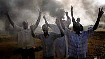 Sudan security forces attack protesters