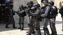 Clashes break out at Jerusalem holy site