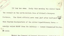 D-Day as the BBC reported it