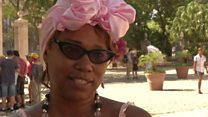 Tourists and locals react to US Cuba cruise ban