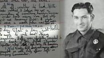 A love letter and an illegal D-Day diary