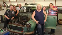Restoring classic cars to help mental health