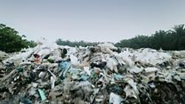 Hugh visits an illegal plastic recycling plant in Malaysia