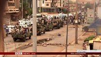 سودان کې پر مظاهرو برید