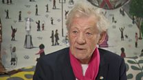 Sir Ian McKellen wants 'pride in ageing'