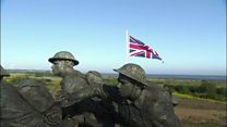 Veterans remember D-Day landings