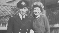 Sons retrace father's D-Day landing steps